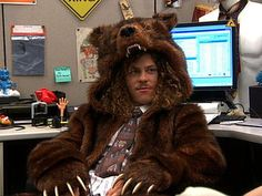 //Loves me some workaholics and bear coats