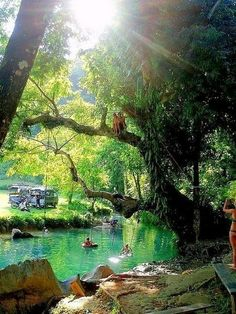 Amazing Places To Go -Natural Swimming Pool- Indonesia