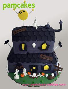 Pastel de Haunted House