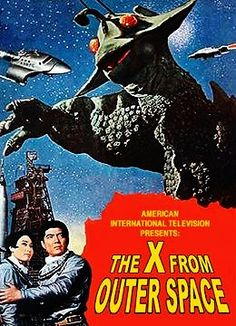 THE X FROM OUTER SPACE sci-fi