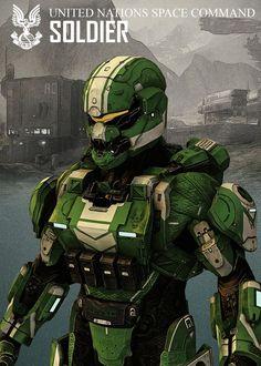 Halo Portraits poster prints by Rykker Halo Spartan Armor, Halo Armor, John 117, Armadura Sci Fi, Odst Halo, Halo Collection, Halo Game, Halo Reach, Futuristic Armour