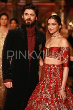 Deepika and Fawad Make Stunning Show Stoppers At the ICW 2016! | PINKVILLA