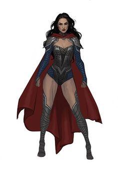 Female Hero, Female Characters, Fictional Characters, Super Hero Costumes, Girl Power, Superman, Character Art, Goth, Wonder Woman