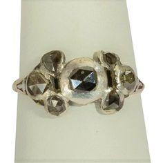 Antique Georgian diamond ring circa 1750
