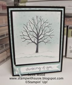 Stamp with Susie: Let it SNOW with 'Sheltering Tree'!