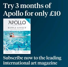 Try 3 months of Apollo for only 10! Subscribe now to the worlds most prestigious art magazine.  Link in bio #subscribe #artmagazine #magazine #international #apollo #apollomag  #apollomagazine #artists #contemporary #antiques #februaryissue #art