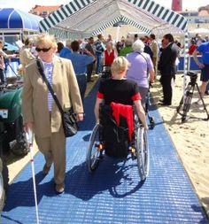Mobi-Mat maakt strand en zand toegankelijk