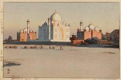 "Hiroshi Yoshida (1876-1950) - From the ""India and Southeast Asia"" Series"