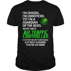 Awesome Tee Air Traffic Controller  Your Unseen Guardian T-Shirt #aviationhumorawesome