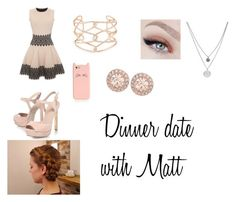 """Dinner date with Matthew Espinosa"" by courtsforever21 on Polyvore"