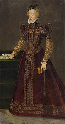Barbara of Austria (1539 - 1572). Daughter of Ferdinand I and Anna of Bohemia and Hungary. She married Alfonso II, Duke of Ferrara.