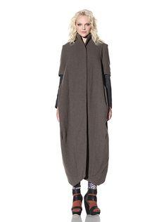 Gary Graham long wool coat