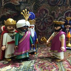 The Magi visited King Herod to inquire of the new king's birth. #advent #christmas #playmobil #nativity #threekings #wisemen #magi