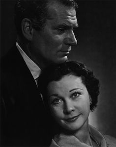Laurence Olivier and Vivien Leigh, 1954.