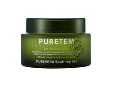 Puretem Purevera Facial Skin Soothing Gel 100 Organic Aloe Vera >>> Want additional info? Click on the image.