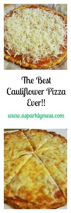 The Best Easiest Cauliflower Pizza-This Cauliflower Pizza is a must in our home. This recipe is the best easiest Cauliflower pizza recipe ever! it makes the menu at least twice times a month. Diabetic Recipes, Low Carb Recipes, Diet Recipes, Vegetarian Recipes, Cooking Recipes, Healthy Recipes, Zoodle Recipes, Recipies, Healthy Meals