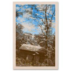 Old barn print