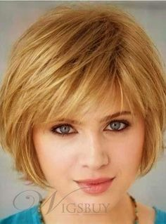 Lovely Short Straight Bob Hairstyle Capless Synthetic Wig about 8 Inches