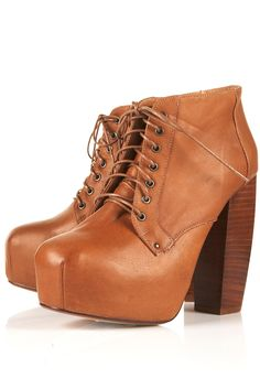 ARIELLE HIGH LACE UP BOOTS