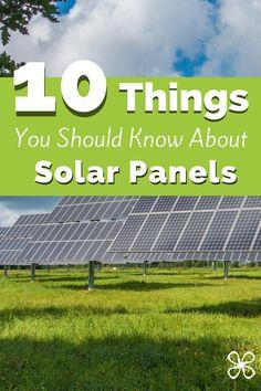 Solar Panels Facts, Small Solar Panels, Solar Energy, Solar Power, Solar Panel Technology, Solar Companies, Help The Environment, I Need To Know, Diy Solar