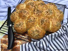 نان چرخ آسیاب با تخم آفتابگردان Møllehjul – وبلاگ ويدا