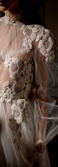 Valentino  Contraste de textures