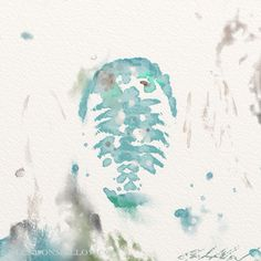Watery Trilobite. There's a whole bunch of variations of this on my blog:  http://glendonmellow.blogspot.ca/2013/08/playing-with-watery-trilobites.html  ArtRage Studio Pro.