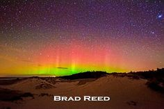 Todd and Brad Reed Photography captures our spectacular Northern Lights in Beautiful Ludington, Michigan!