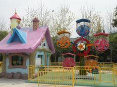 Outdoor children games amusement park mini rides ferris wheel for sale