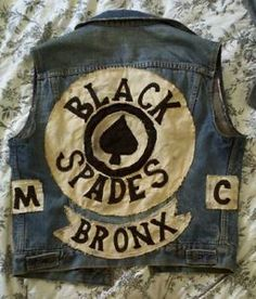 Black Spades. One of the oldest all black MC's.