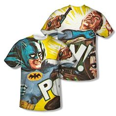 Batman Classic TV On The Chin All Over Print Front / Back T-Shirt