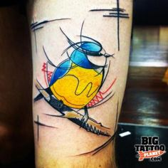 Mike Boyd - Abstract Tattoo