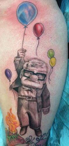 This is so cute and sooo well done. #tattoo