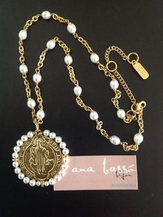 #chapa #goldplated #collares #perlas #pearl #proteccion #goldplated #joyería #mujer #chic #basico
