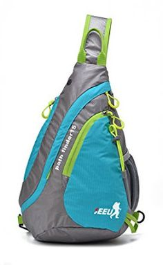 SEEU Sling Bag Backpack for Women Men Lightweight Chest rope bag one strap crossbody shoulder backpacks for GYM Travel -- Check out the image by visiting the link. (This is an affiliate link) Shoulder Backpack, Crossbody Shoulder Bag, Crossbody Bag, Travel Backpack, Backpack Bags, Sling Backpack, Fashion Backpack, Day Backpacks, Outdoor Backpacks
