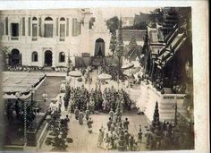 Prince Chulalongkorn's investiture ceremony at Sanam Luang - 1862