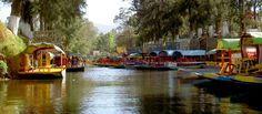 Mexico City's Venice-of-the-south, Xochimilco