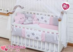 Items similar to Little Happy Cloud Raindrop Sky Theme Pink Baby Girl Nursery Crib Bedding Set Embroidered Bumpers + Sheet set + Decorative Cushions on Etsy Baby Girl Crib Sets, Girl Cribs, Girls Bedding Sets, Crib Bedding Sets, Crib Sheets, Baby Cribs, Baby Boy, Crib Rail Cover, Crib Bedding