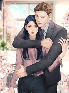Fantasy Couples, Romantic Anime Couples, Romantic Manga, Cute Couples, Manga Couple, Anime Love Couple, Couple Cartoon, Anime Couples Drawings, Anime Couples Manga