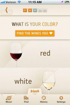 #app Blush for wine