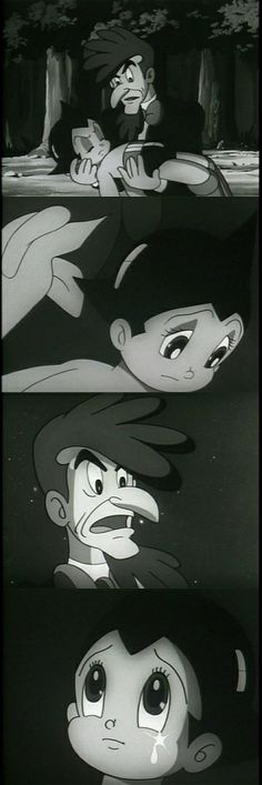 Reunion of Atom and Dr. Tenma in the 1960's anime series. http://www.astroboy-online.com/forums/