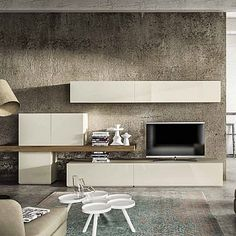 Beautiful, elegant 'Desert' TV Unit. Minimalist, elegant unit for the living room. My Italian Living.