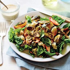 """""""The maple-tahini dressing is rich but not heavy;         you won't feel weighed down,"""" Bemis says."""