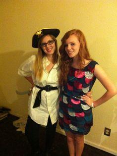 Best Halloween costume I've ever had. Plus I made it! I'm the Rainbow Fish :]