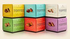 Mrs. Weinstein's Toffee Boxes Stacked — Designspiration