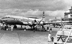 Avião da Panair do Brasil em 1957