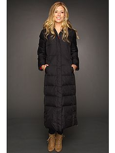 Tommy Hilfiger Women S Quilted Zip Front Long Coat By