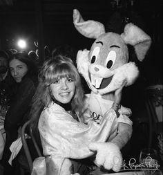 """Stevie & Bugs 1976 (Reception for Fleetwood Mac for presentation of gold record for """"Fleetwood Mac"""")"""