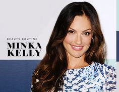 Minka Kelly, a self-professed beauty product junkie, shares her beauty routine and the products she swears by, including Oribe Dry Texturizing Spray.