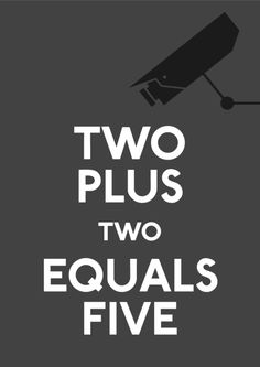 Two plus two equals five | Anonymous ART of Revolution